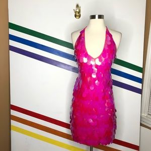 NEW Motel sequin mini dress